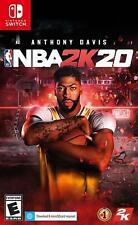 NBA 2K20 - Nintendo Switch Anthony Davis Basketball Sports Gaming 10 New Teams