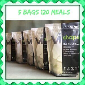 5x Visalus Body By Vi Shape Shake Mix 22 oz Bags 120 meals exp 8/23