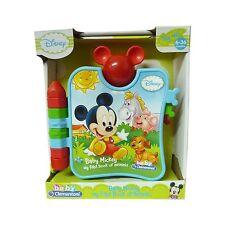 Disney Jouet Bébé Mickey Mon Premier Livre Du Animaux Avec Son Âge 6-36 Mois