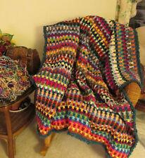 Drop Stitch Afghan pattern in Crochet