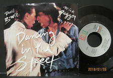 "DAVID BOWIE & MICK JAGGER ""Dancing In Street"" 45 w/PS NM UNPLAYED store stock!"