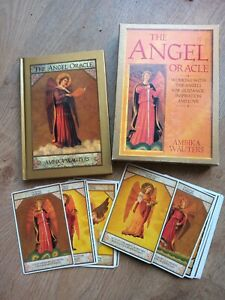 VINTAGE 1996 THE ANGEL ORACLE CARD AND BOOK BOX SET BY AMBIKA WAUTERS