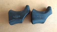 Pair of Black Campagnolo World Logo Brake Lever Hoods