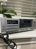 VINTAGE - SOUNDESIGN Am-Fm Stereo Electronic Clock Radio Cassette Recorder 3892