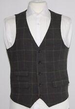 Men's Easy & Company, Green check waistcoat (M)... sample 1135