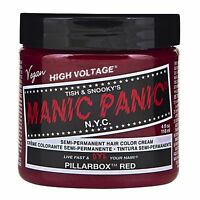 Manic Panic Vegan Semi Permanent Hair Color Cream 118 mL Pillarbox Red
