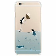 Hard Back Phone Penguin Case/Cover for Apple iPhone 5 5s Screen Protector