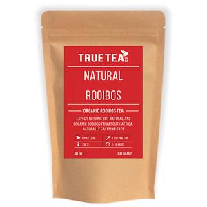 Rooibos Organic Tea (No.601) - Loose Leaf Caffeine Free Red Bush - True Tea Co.