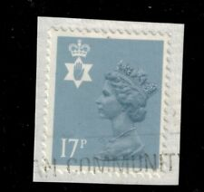 More details for  northern ireland sg ni43 ea. 17p type ii 2  stamp used
