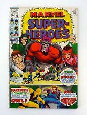 MARVEL SUPER-HEROES #23 Marvel Brotherhood of Evil Mutants Mageto VF+ 1969