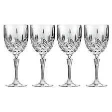 WATERFORD-MARQUIS MARKHAM STEMWARE GOBLET  SET OF 4 RRP$140