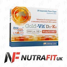 OLIMP GOLD VIT D3 K2 VITAMIN BLOOD CLOTTING BONES TEETH SUPPORT ALA