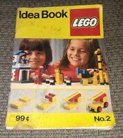 Vintage Lego Building Idea Book No. 2 1977 toy ANIMAL HOUSES ZOO CAR BOAT PLANE