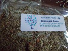 Dried rosemary leaves - rosea variety 10g Rosmarinus officinalis 'rosea'