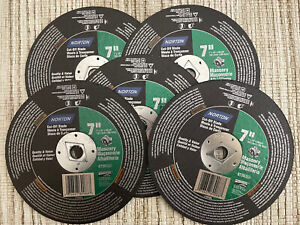"LOT OF 5 - Norton 7"" Masonry # 89088 Cut-Off Blades"