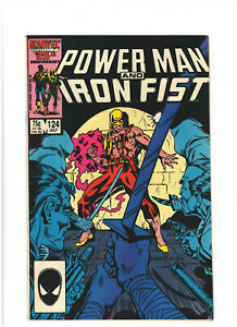 Power Man and Iron Fist #124 FN 6.0 Marvel Comics Copper Age 1986