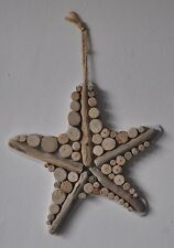 "Driftwood ""Starfish"" Bathroom Shabby Chic Hand Crafted Charm Home Decor"