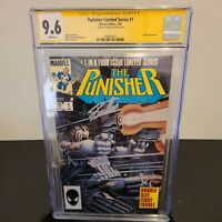 The Punisher #1 (limited series) CGC Signature Series 9.6 Signed by Stan Lee