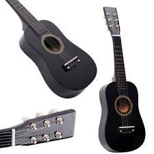 "23"" Beginners Kids Acoustic Guitar 6 String with Pick Children Kids Gift Black"