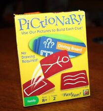 Pictionary Card Game - Use Our Pictures to Build Each Clue - No Drawing Required