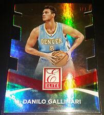Danilo Gallinari 2014-15 Donruss ELITE SET JERSEY NUMBER DIE-CUT Card (#'d 5/8)