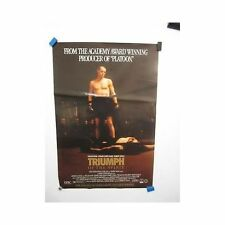 TRIUMPH OF THE SPIRIT Willem Dafoe Original Vintage Video Movie Poster