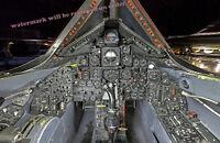 Photograph of a SR-71 Aircraft Cockpit / Flight deck 11x17 inches