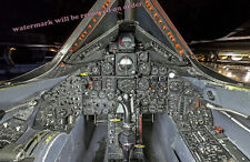 Photograph SR-71 Aircraft Cockpit / Flightdeck 11x17