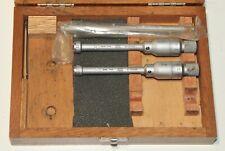 Swiss Tesa Three Point Internal Micrometer Metric Set 8 12 Mm 0001
