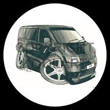 Koolart 4x4 4 x 4 Spare Wheel Graphic Mercedes Vito Van Sticker 1728