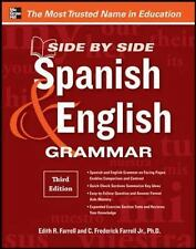 Side-By-Side Spanish and English Grammar, 3rd Edition-ExLibrary