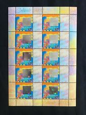 1999 Australia Celebrate 2000 Sheetlet Of 10 Stamps Mint Never Hinged, Clean