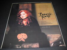 Bonnie Raitt magazine can't carry a tune Longing In Their Hearts 1994 Promo Ad