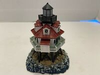 Lighted Lefton's Historic American Lighthouse Thomas Point 1999 NICE!