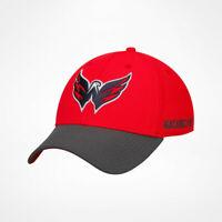 New Men's Adidas Washington Capitals NHL Hockey Cap Hat Coach Stretch Flex L/XL