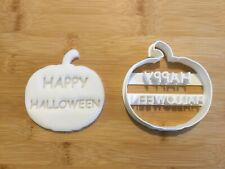 Halloween Cookie Cutter Happy Pumpkin Biscuit, Pastry, Fondant Cutter