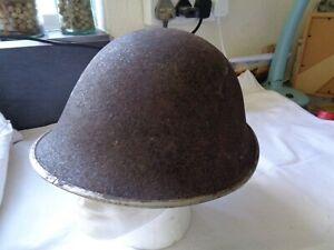 Vintage 50s / 60s British Turtle Combat Helmet - See Pictures for Details !