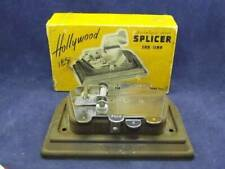 Hollywood Stainless Steel 8mm-16mm Movie Film Splicer & Original Box - Excellent