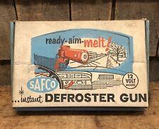 Vintage SAFCO Defroster Gun A.G. BUSCH & Co Auto Car Garage With Original Box