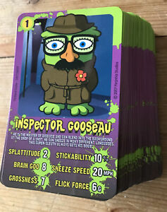 The Bogies Battle Cards Top Trumps 99/100 Card 25 Missing Novelty Game Rare