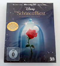 Beauty and the Beast Blu-ray 3D Movie Exclusive Collector's Diamond Edition Disc