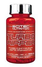 Scitec Nutrition - Turbo Ripper, 100 Kapseln - Fatburner, Diät, L-Carnitin -