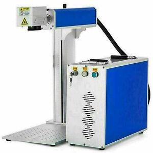 New 30W Fiber Laser Marking Machine Metal Engraving Engraver 150X150mm 110V US