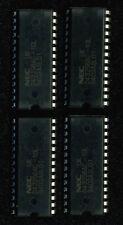 LOT DE 4 MEMOIRES RAM STATIQUE 2k x 8 BITS PARALLELES NEC 43256 - 10L