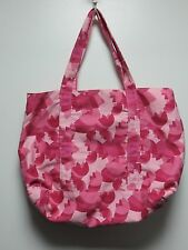 Multi-Color Pink Tulip Design Extra Large Tote Bag