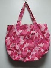 Multi-Color Pink Tulip Design Extra Large Tote Bag