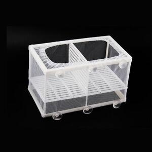 Large Aquarium Fish Tank Guppy Breeding Breeder Baby/Fry Net Trap Box Hatchery
