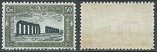 1928 REGNO MILIZIA 50 CENT LUSSO MNH ** - Z3-2