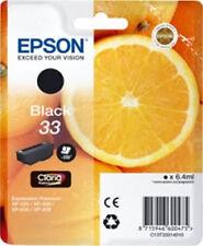 ORIGINAL EPSON 33 Black Tinte Patrone XP540 XP640 XP900 XP530 XP630 XP635 XP830