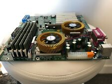 Supermicro Dual Tualatin PIII-S Motherboard,with 4G MEM, Video Graphic Card AGP!